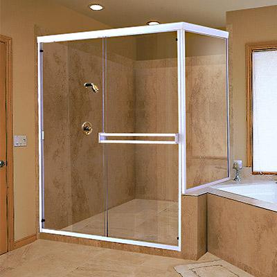 alumium shower doors