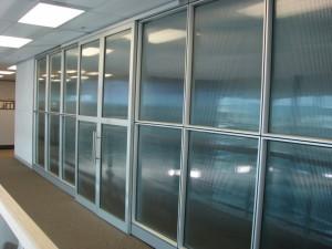 aluminium partitioning